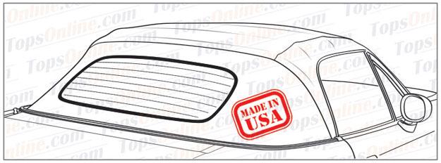 1989 thru 1997 Mazda Miata MX5 Convertible Tops and