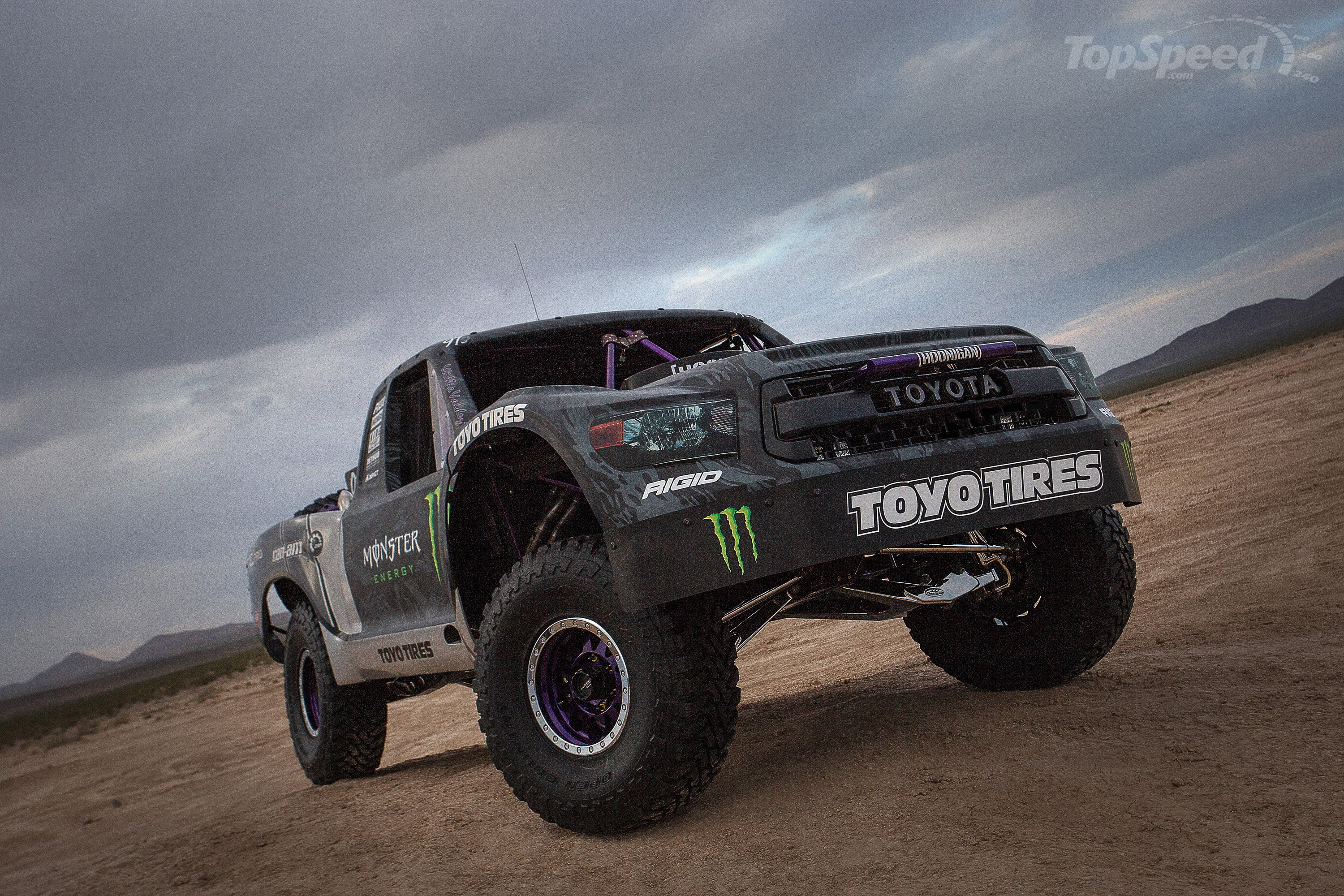 Open Jeep Car Wallpaper Toyota Debuts Tundra Trd Pro Trophy Truck Announces Bj