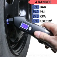 multifunction tire pressure gauge