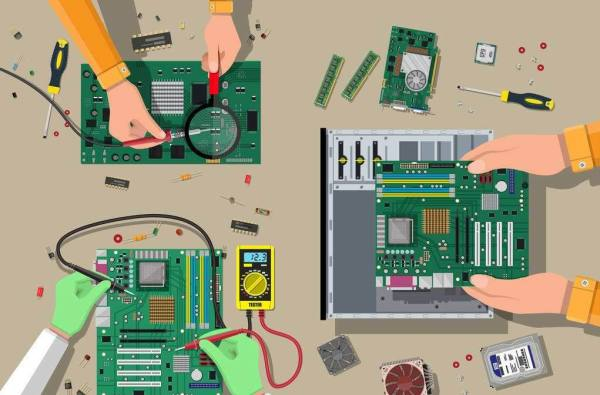 PCB design assemble
