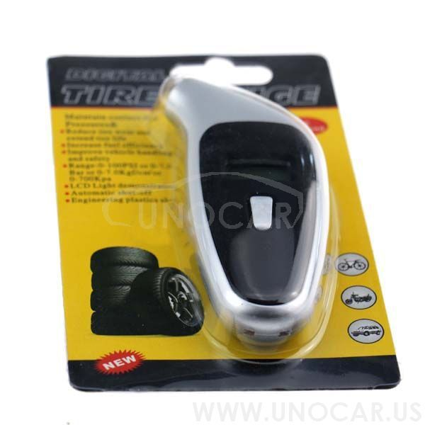 car digital tire gauge