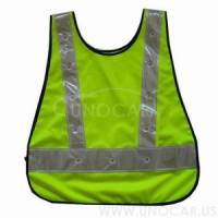 led light reflective vest