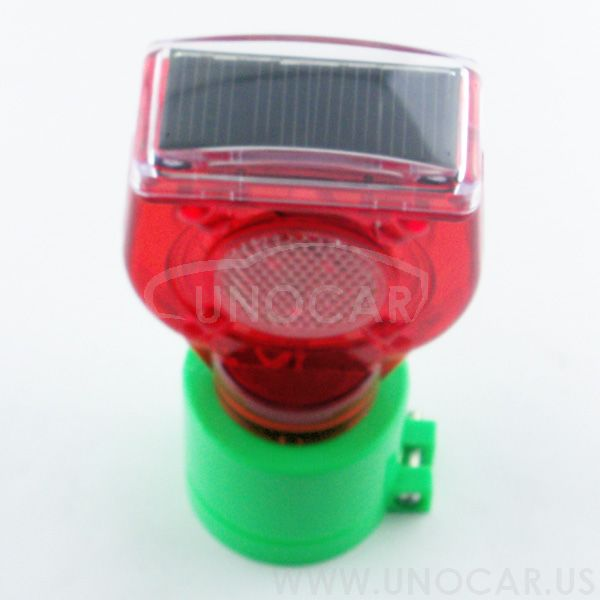 solar powered flashing light