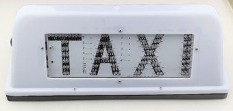 taxi light box