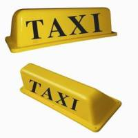 taxi cab top lights