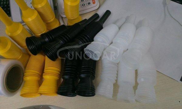 gasoline spout pipe