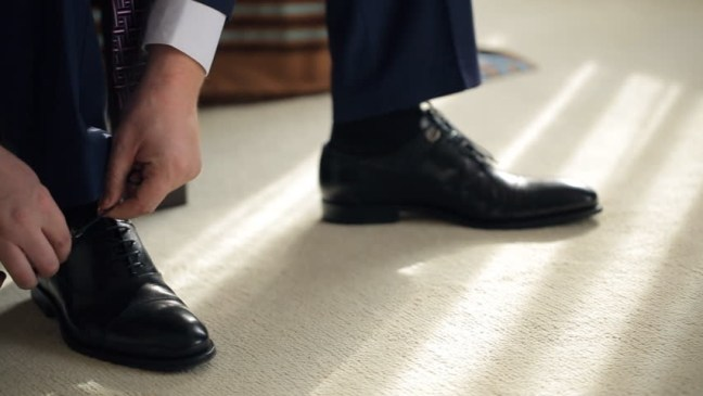 Do you walk with your shoes on the carpet?