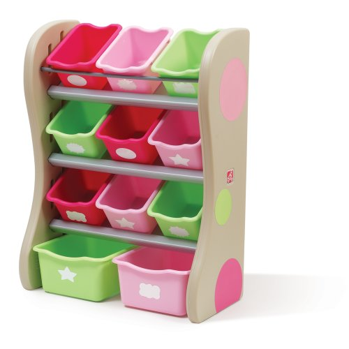Step2 Fun Time Room Organizer And Toy Storage Pink