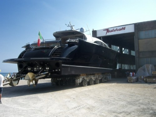 Top System Surface Drives TS120 on boat Italcraft 105