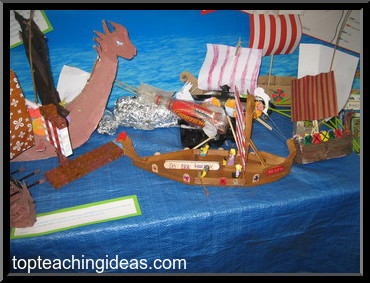 Anglo Saxon Wooden Boat
