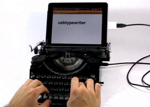 USB maquina de escribir