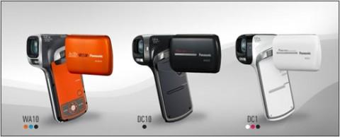 Nueva prueba de agua  de la videocámara Panasonic Full-HD Camcorder HX-WA10