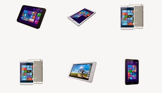 Microsoft lanza su nueva gama de minitablets