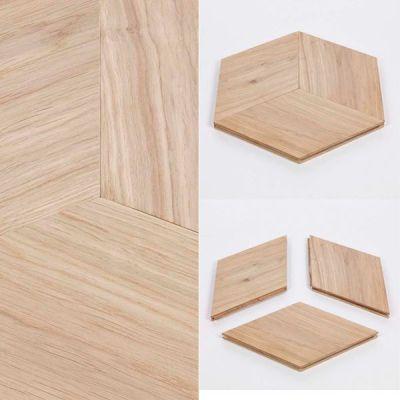 hexagonale tegels van Lalegno makkelijk zelf te plaatsen.
