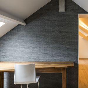 Donker grijze mozaiek tegels in natuursteen