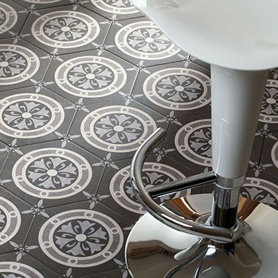 hexagonale patroon tegels voor de vloer of wand