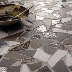 keramische breuksteen mozaiek