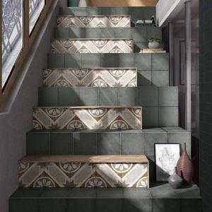 Een patroontegels is een leuke en budgetvriendelijke afwerking van jouw trap.