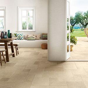 Romeins verband als vloertegel en terrastegel.