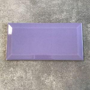 Lila paarse metrotegels in 10x20cm te koop bij Top Tegel 04 in Ieper.