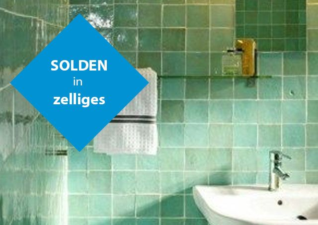 Solden in zelliges in formaat 10x10cm bij Top Tegel 04 in West Vlaanderen