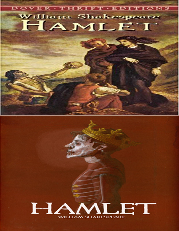 Hamlet book cover photo