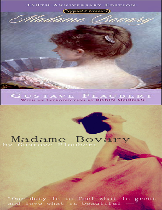 madame bovary book cover image
