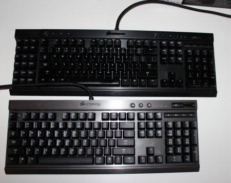 Corsair Gaming K70 and K95 Mechanical keyboards