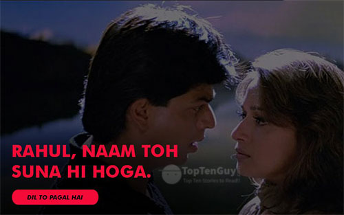 Rahul, naam to suna hi hoga? - Best Hindi Movie Dialogues