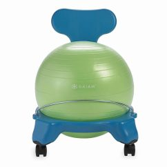 Best Yoga Ball Chair Reviews Chic Covers Birmingham Chairs In 2019 Gaiam Kids Balance