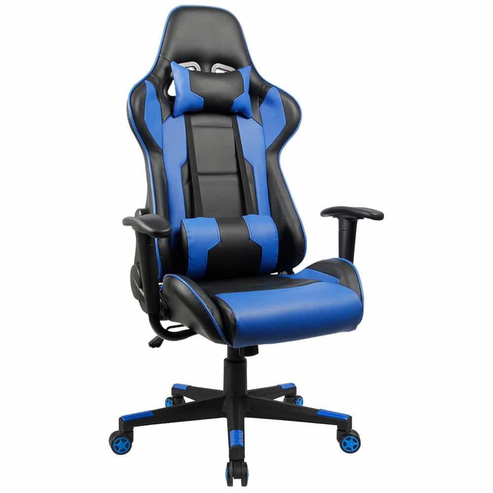 comfortable office chairs for gaming gym massage chair best in 2019 reviews homall executive swivel leather