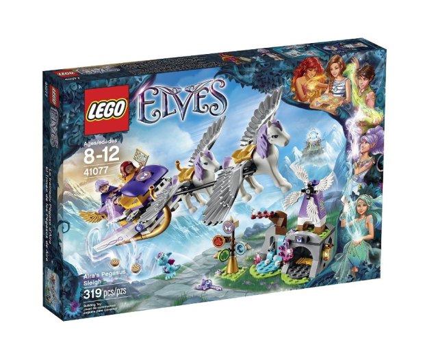 LEGO Elves 41077 Aira Pegasus Sleigh Building Kit