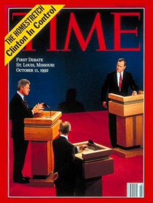 Bill Clinton George Bush Debate