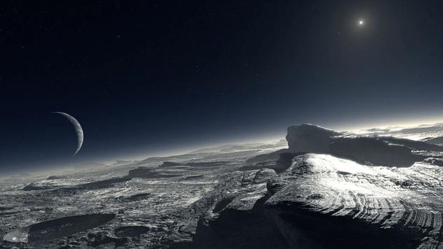 Pluto-oceans