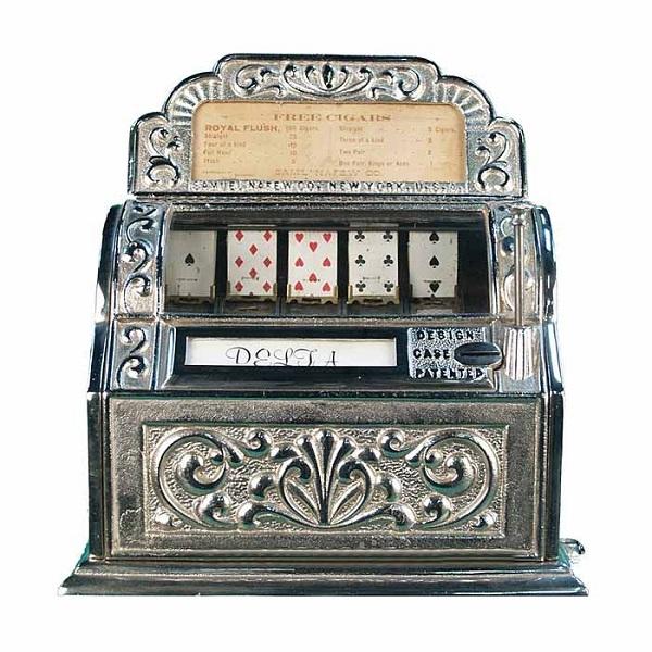 The Worlds First Slot Machine