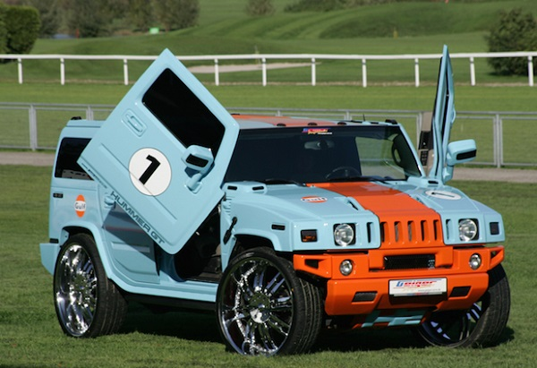 Gulf Racing Hummer