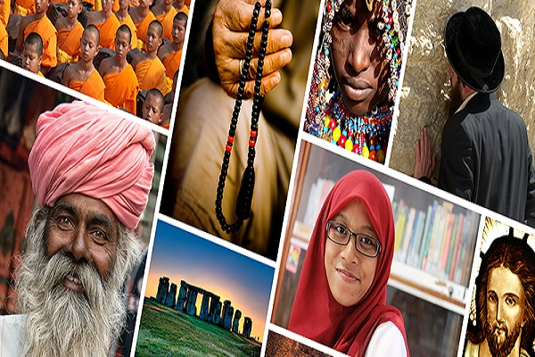 Ten of the Most Common Religions From Around the World