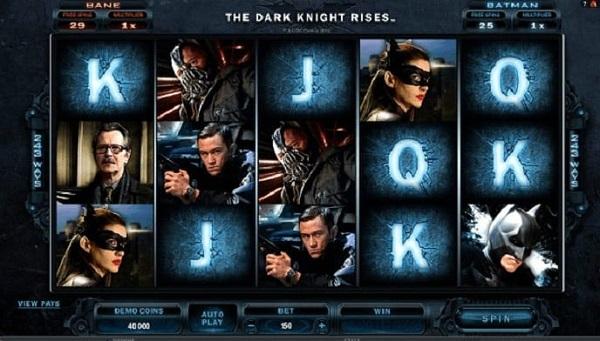 The Dark Knight Rises Video Slots