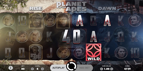 Planet of the Apes Video Slots