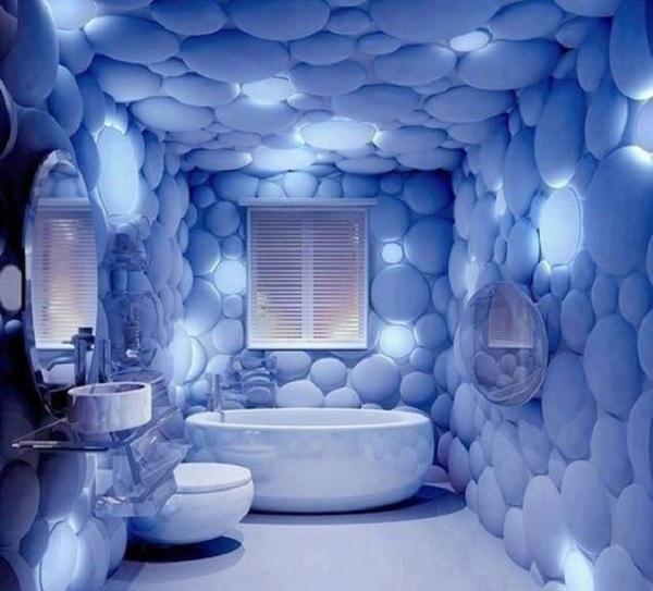 Circle Bathroom