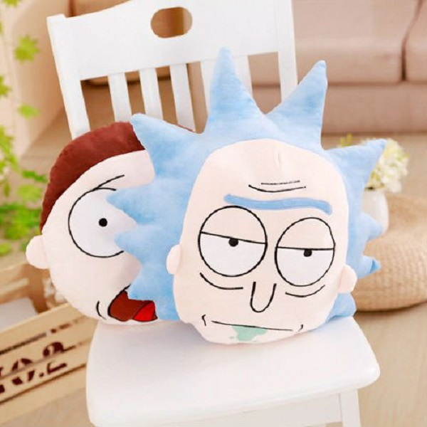 Rick And Morty Throw Pillows