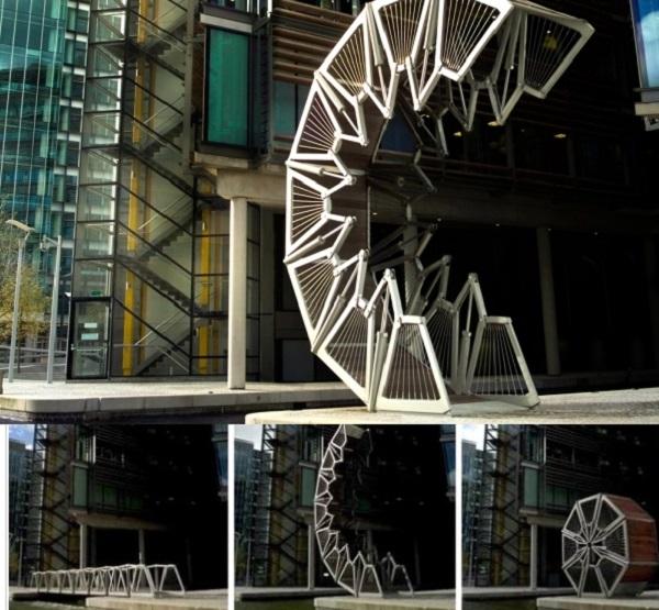 Heatherwick's Rolling Bridge, UK