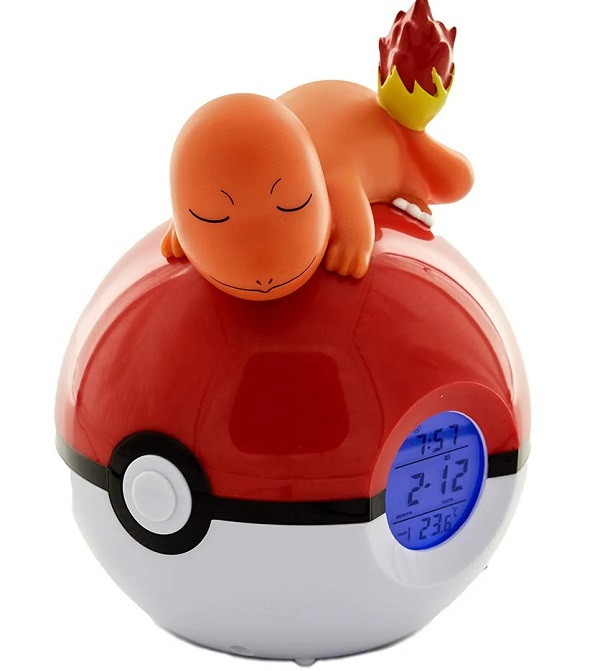 Pokemon Sleeping Charmander Alarm Clock