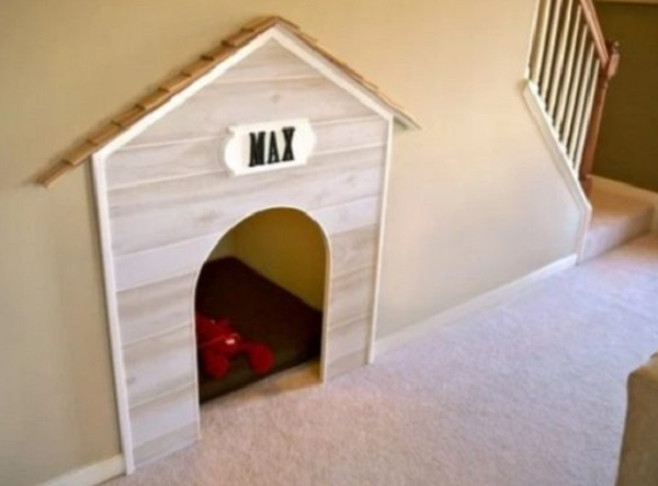 Doghouse Under Staircase