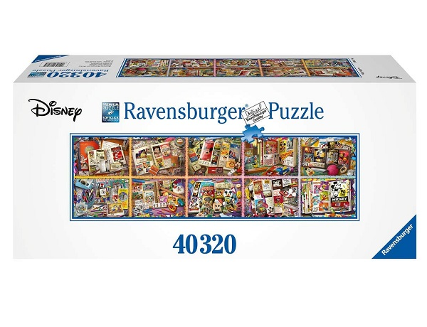 Ravensburger Disney Mickey through the Years - 40,320 Puzzle Pieces