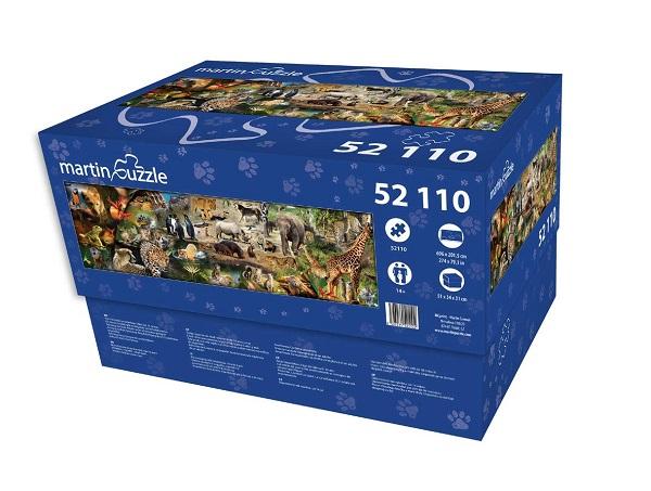 Martin Puzzle Animals - 52,100 Puzzle Pieces