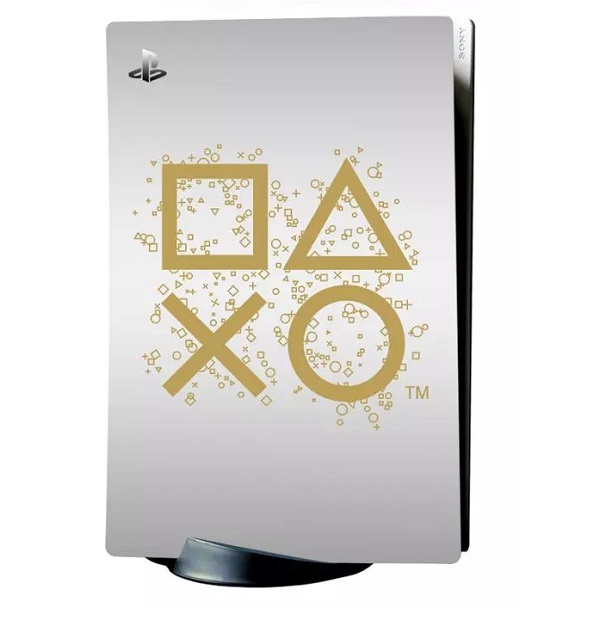 PlayStation Icon Decal Cover for PS5