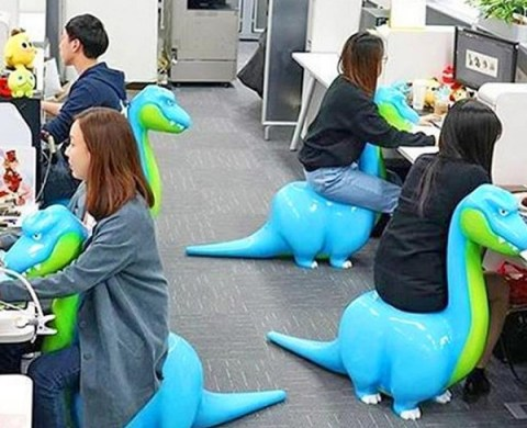 Ten of the Most Unusual and Craziest Office Chairs Money Can Buy