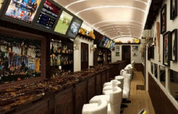 Casino on a Train