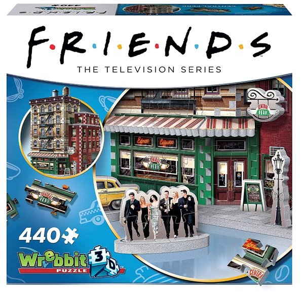 Friends Central Perk 3D Puzzle